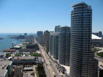 Toronto Habour at Queens Quay